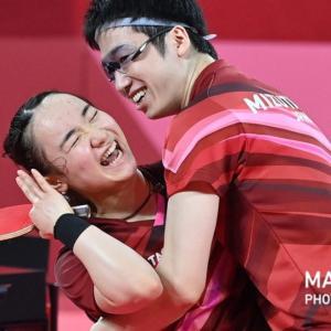 日本初!卓球金メダルおめでとう