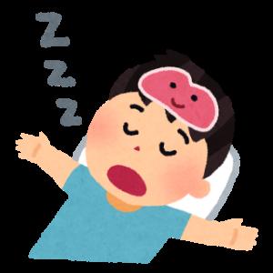 睡眠薬ニトラゼパム(ベンザリン)を飲んでいた時の睡眠記録