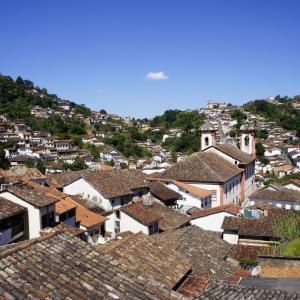 古き金鉱の町-ブラジル オーロ・プレット旅行記(2012/3)