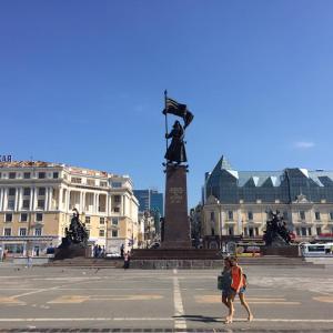 日本から一番近いヨーロッパ ウラジオストクを観光-ロシア ウラジオストク旅行記(2016/08)