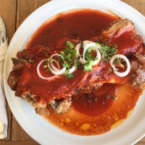 チャモロ-メキシコの香り豊かな豚肉料理