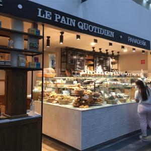 LE PAIN QUOTIDIEN ル・パン・コティディアン-メキシコシティ空港ターミナル2のパン屋さん