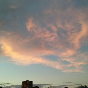 綺麗な夕空だ