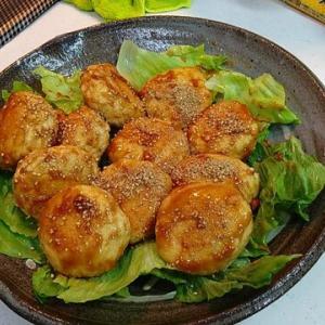 サンメカshimoの休日料理【豆腐入り鳥つくねのごま照り焼き】
