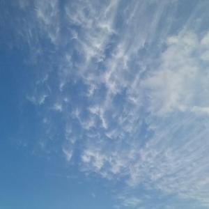 綺麗な雲「鳩の軌跡」