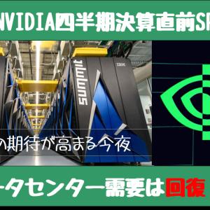 〔米国株〕NVIDIA決算直前スペシャル ~しれっと買い戻してました~