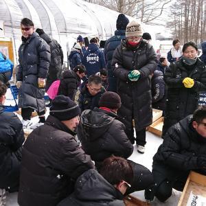 昭和新山国際雪合戦1日目⛄