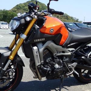 レンタルバイクのMT-09で熊本までツーリングしてきた