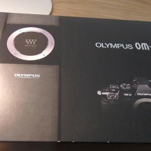 OLYMPUS OM-D E-M1がやってきた!