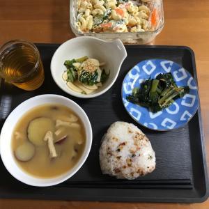 今朝の朝ごはん 残飯整理編(^_^;)