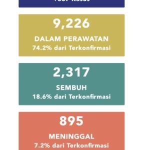 5月6日(水)の集計 インドネシア政府発表より