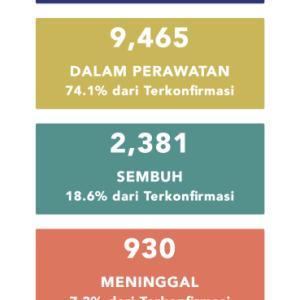 5月7日(木)の集計 インドネシア政府発表より