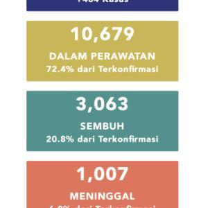 5月12日(火)の集計 インドネシア政府発表より