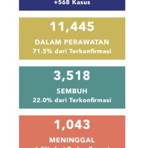 5月14日(木)の集計 インドネシア政府発表より