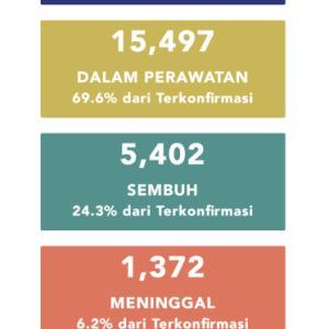 5月24日(日)の集計 インドネシア政府発表より