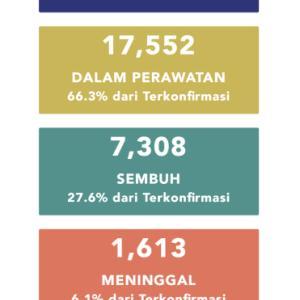5月31日(日)の集計 インドネシア政府発表より