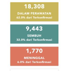 6月5日(金)の集計 インドネシア政府発表より
