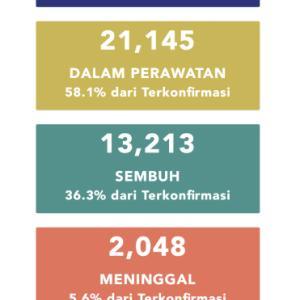 6月12日(金)の集計 インドネシア政府発表より