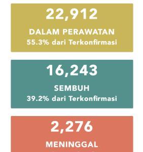 6月17日(水)の集計 インドネシア政府発表より