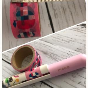 ペンサイズのマスキングテープホルダー【maco(マコ)】にマステを巻いて、いつでもどこでもマスキングテープライフを満喫!!