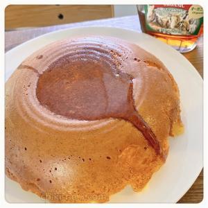 炊飯器ホットケーキ(リンゴ入り)