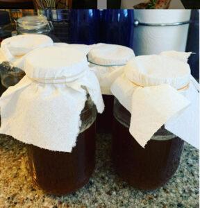 紅茶きのこ/コンブチャ作りました。腸内お花畑