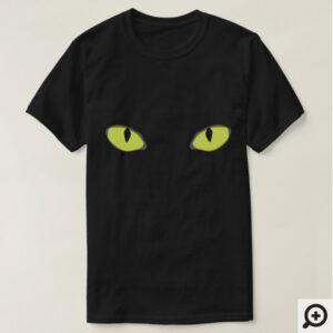 ハロウィンコスチュームシャツ : 猫の目 と懐かしの漫画
