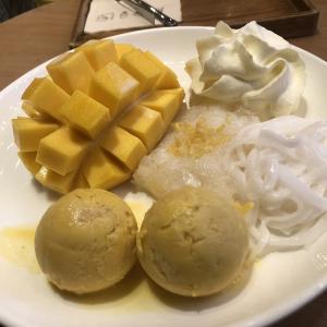 タイのバンコクで食べたいオススメのトロピカルフルーツ、アイスクリーム