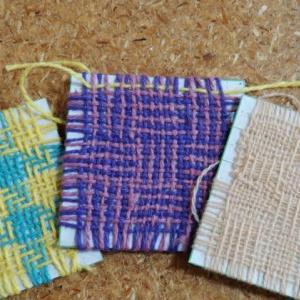 小さな織り?のサンプル