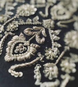 モール刺繍について