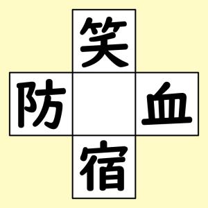 【脳トレ】漢字穴埋め 373問目