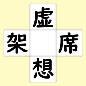 【脳トレ】漢字穴埋め 325問目