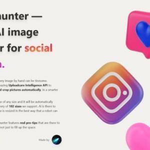 【無料】Pixelhunter SNS 最適 画像サイズ に 1回で トリミング!ピクセルハンター