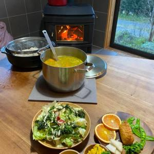 福縁の宿、今日の晩ご飯もこんなに作ってしまった〜♪