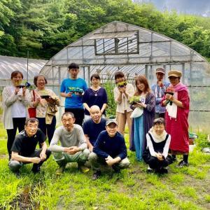 映画「蘇生Ⅱ」に出演された今泉さん、米倉さんのお家訪問❣️