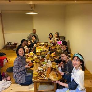 【イベント報告】3/12月とカヌーの暦のお話会後は大宴会♡