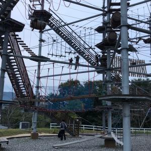【わんこもOK】ブルーメの丘で西日本最大級巨大アスレチック