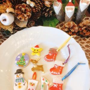 【レッスンレポ】クリスマスアイシングクッキー