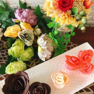 【レッスンレポ】チョコレートで薔薇作り♡
