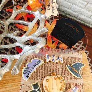 【レッスンレポ】大人ハロウィンアイシングクッキー
