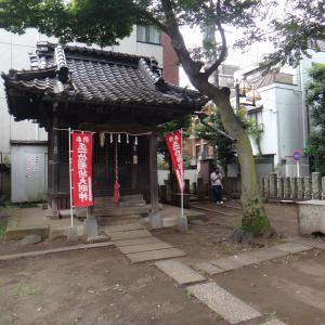 今日のみちばた 五郎久保稲荷神社と榛名神社