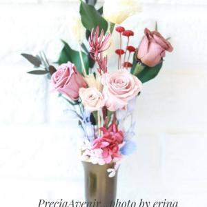 【プリザーブドフラワー】仏花に見えない仏花で楽しむ