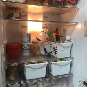 冷蔵室の大掃除