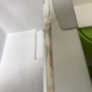 冷蔵庫のパッキン汚れに