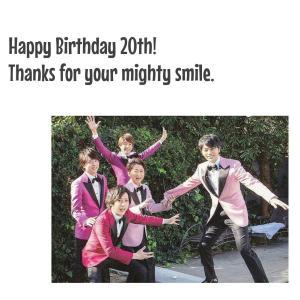 Happy Birthday ARASHI!!!!!