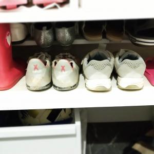 子供靴の収納力をアップさせる