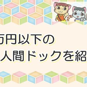 【格安】3万円以下の『人間ドック』をネットで予約できる!