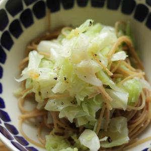 【ダイエット料理】キャベツたっぷり!簡単!ペペロンチーノ