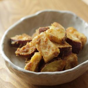 【高野豆腐の洋風レシピ】サツマイモとカレー和え