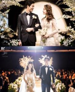 T-ARA出身アルム、新婦が祝歌を熱唱!結婚式の写真公開